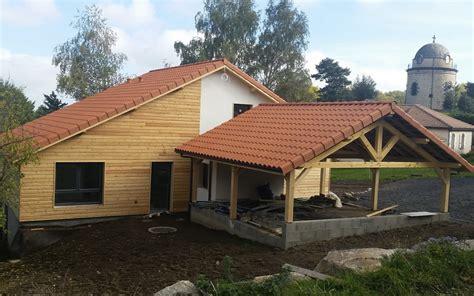 la maison a ossature bois par les schemas actualit 233 la maison bois par maisons bois