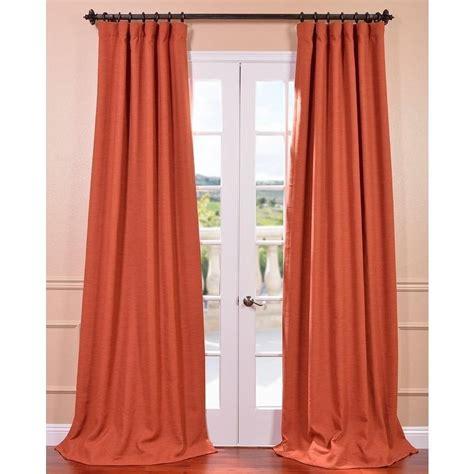 persimmon bellino blackout curtain overstock