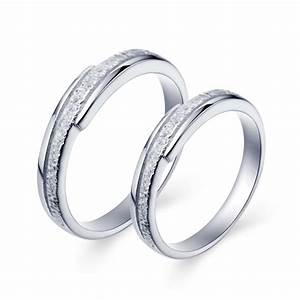 ring silver for men and women wedding rings sets gifts With men and women wedding ring sets