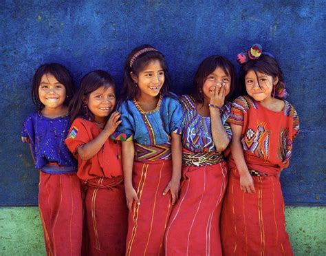 People Guatemala Girls