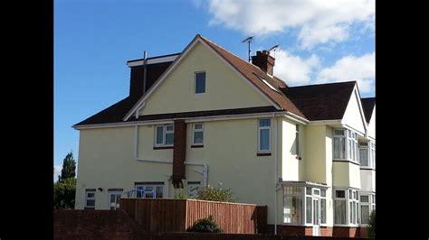 semi detached house   hip  gable  flat roof dormer loft conversion youtube