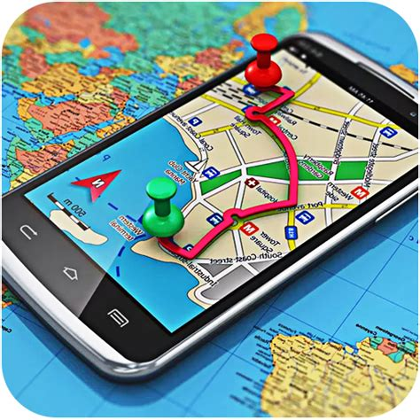 Gps Map Navigation & Direction