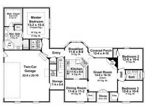 images one level country house plans house plan 59158 at familyhomeplans