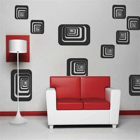 Depth Shapes Wall Decals Trendy Wall Designs