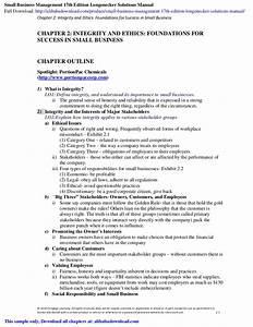 Small Business Management 17th Edition Longenecker