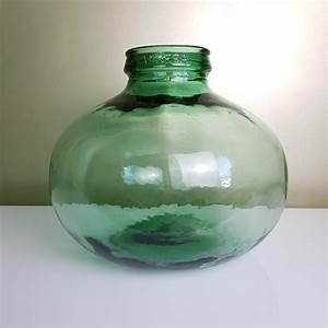 Gros Vase En Verre : bonbonne en verre dame jeanne gros culot marque viresa ~ Teatrodelosmanantiales.com Idées de Décoration