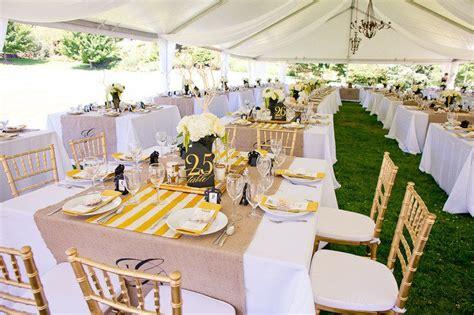 deco mariage jaune blanche   mariage idees
