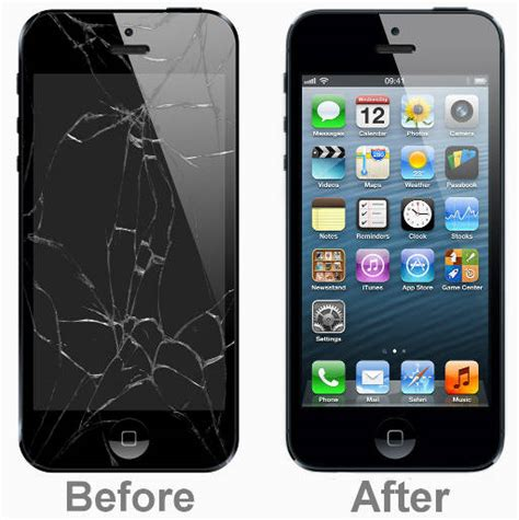 how to fix a iphone image gallery iphone 5 screen repair