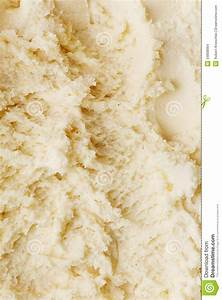 Texture From Vanilla Ice Cream From Above Stock Photo ...