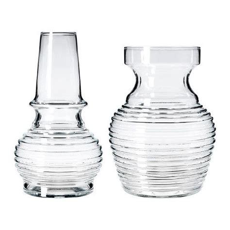 vasi trasparenti ikea decorare la tavola a primavera con le novit 224 ikea