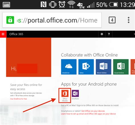 Office 365 Mail For Android by Install