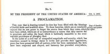 abraham lincoln 39 s proclamation of thanksgiving day explore