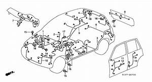 Wire Harness For 2001 Honda Cr