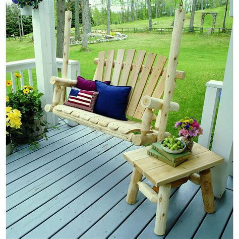 lakeland mills 174 cedar end table 134192 patio furniture