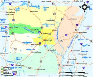 Arkansas River Map United States