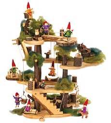 magic cabin toys deluxe build a tree house blueberry forest toys