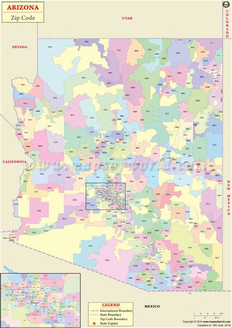 Mexico City Zip Code Map.Mexico City Zip Code Map