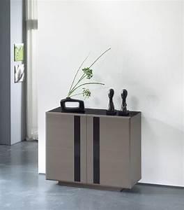 sejour horizon meuble d39entree 2 portes largeur 110 With meuble 45 cm largeur