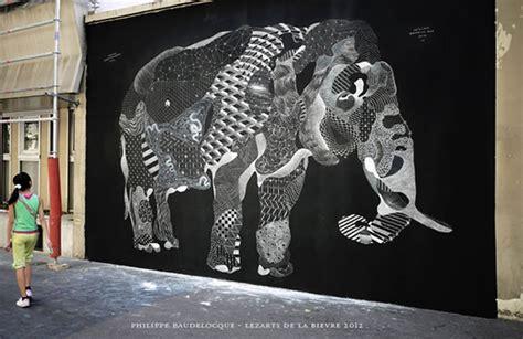 chalk street art scene