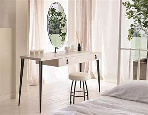 Modern Dressing Table with Mirror – Vintage and Modern