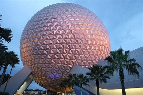 walt disney world epcot center spaceship earth simpson