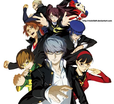 persona 4 the golden animation 1 persona 4 the golden animation render 1 by viole1369 on