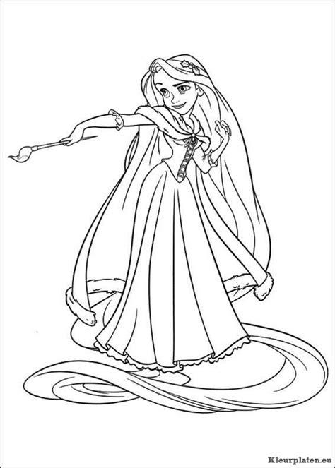 Kleurplaat Rapunzel by Rapunzel Kleurplaten Kleurplaten Eu