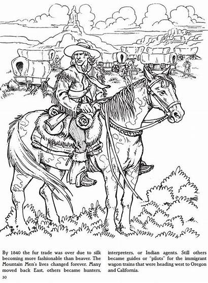 Coloring Pages Adult Dover Mountain Books Fur