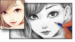 How to Draw an Anime Face - YouTube