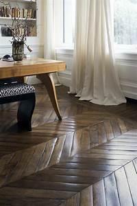 Parquet Noirci Par L Humidité : parquet bois massif de design glamour par i vassalletti ~ Premium-room.com Idées de Décoration
