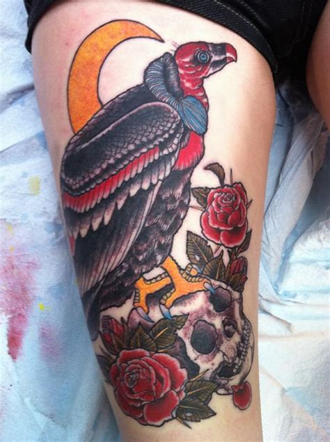 vulture tattoo images designs