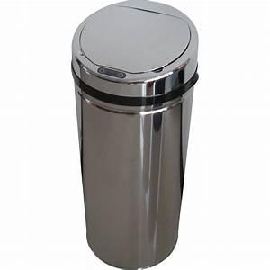 Poubelle Exterieur Leroy Merlin : poubelle de cuisine automatique selekta plastique inox 42 ~ Melissatoandfro.com Idées de Décoration