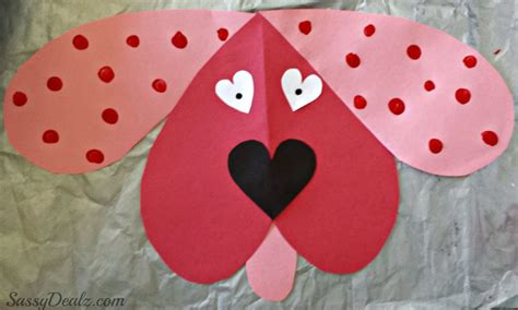 crafts for valentines day cute dog valentines day craft for kids crafty morning