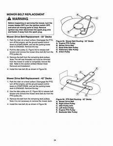 Snapper Mower Belt Replacement Diagram