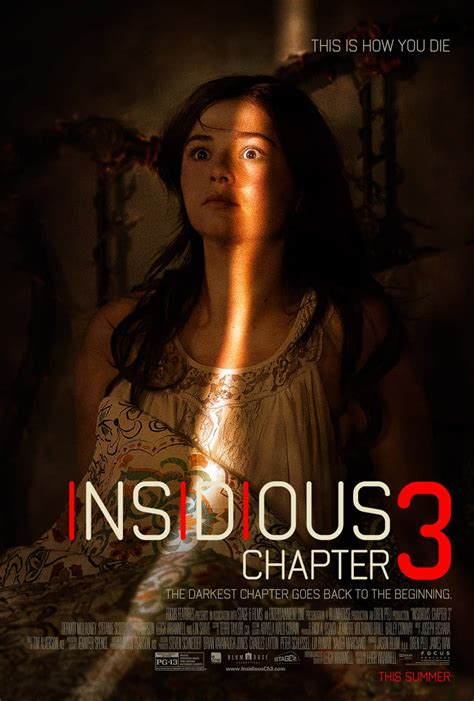 Insidious Chapter 3 - Official Poster Premiere