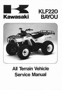 1991 Kawasaki Klf220