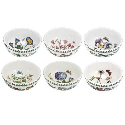 portmeirion botanic garden bowls portmeirion botanic garden fruit salad bowl set 6pce