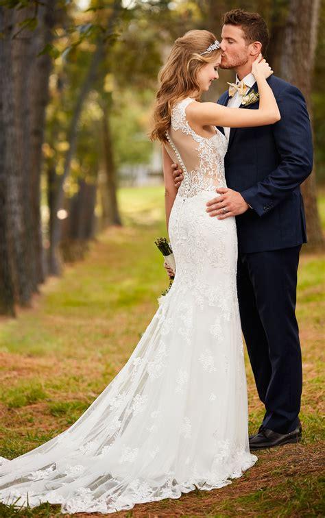 dresses stella york backless classic lace sexy bride sample bridal onix restaurant agapia gowns designer modern planyourperfectwedding fmoikadewe enregistree depuis