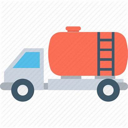 Truck Icon Water Tanker Oil Delivery Fuel