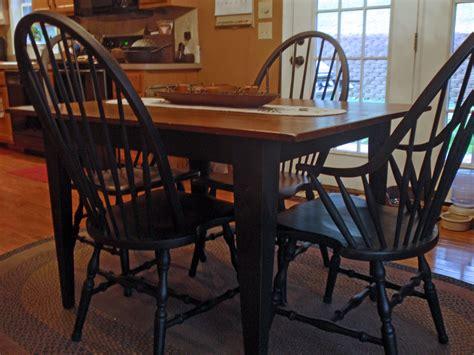 Black Kitchen Table Decorating Ideas by Kitchen Table Briarpatchprim S Weblog