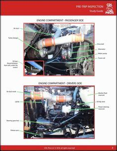 school bus engine diagram google search cdl