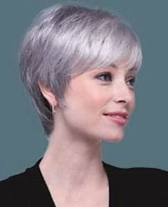 Coupe Courte Femme Cheveux Gris : coupe cheveux gris ~ Melissatoandfro.com Idées de Décoration