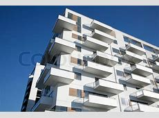 Waterfront appartment building Odense Denmark Stock