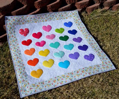 baby quilt patterns lovey dovey baby quilt allfreesewing