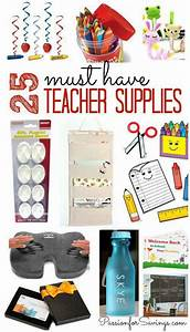 25 Must Have Teacher Items For Back To School