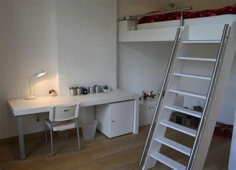 bureau ado fille chambre pour ados avec lit en mezzanine ai concept