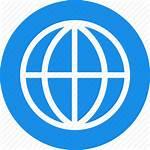 International Icon Language Global Globe Square Location