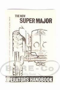 Operator Manuals