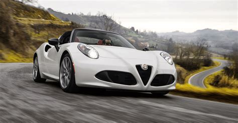 Alfa Romeo 4c Specs by 2016 Alfa Romeo 4c Spider Pricing And Specifications