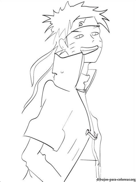 dibujo naruto uzumaki  imprimir dibujos  colorear